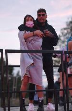 Charlotte Crosby Enjoys Socially Distanced Concert at Outdoor Arena with boyfriend Liam Beaumont