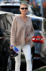 Charlotte McKinney Arriving at Cha Cha Matcha in Los Angeles