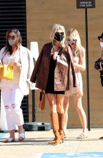 Charlotte McKinney Out on her birthday in Malibu
