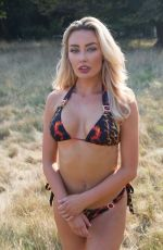 Chloe Crowhurst In a bikini photoshoot out in Brentwood, Essex