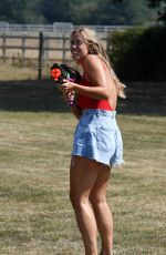 Chloe Meadows At The Only Way is Essex TV show filming in Essex