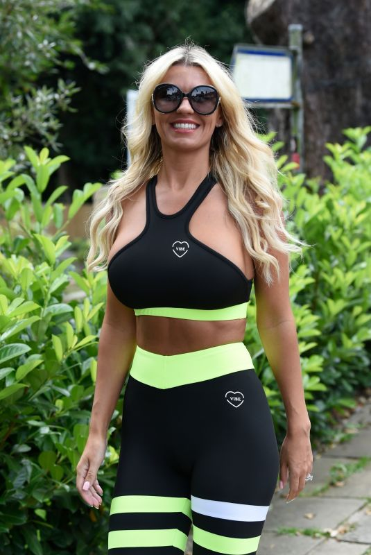 Christine McGuinness Seen out in Cheshire