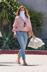 Cindy Crawford Getting take out from her restaurant Cafe Habana in Malibu