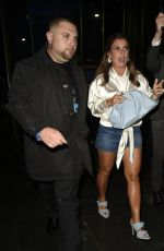 Coleen Rooney Arriving at The Ivy in Spinningfields Manchester for a date night