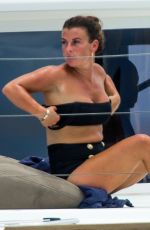 Coleen Rooney Enjoy a fun day at sea with their family during their sunshine break in Barbados