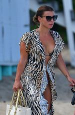 Coleen Rooney On the Luxury Catamaran yacht in Barbados