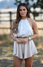 Courtney Green At The Only Way is Essex TV show filming in Essex
