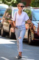 Daphne Groeneveld Wearing an engagement ring in the West Village of Manhattan