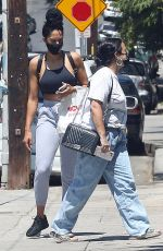 Demi Lovato Keeps it safe with a mask while out in Los Angeles