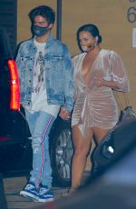 Demi Lovato On a dinner date with her fiance at Nobu in Malibu