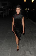 Demi Rose Arriving at the W Hotel opening night in Ibiza
