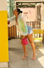 Draya Michele Puts on a leggy display in North Hollywood