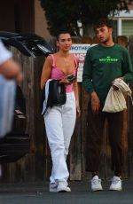 Dua Lipa Out for dinner in Los Angeles