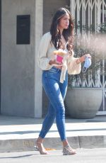 Eiza Gonzalez Getting another fix for her coffee in Studio City
