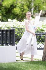 Elle Fanning Out in Los Angeles
