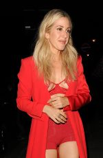 Ellie Goulding Leaving a performace at London