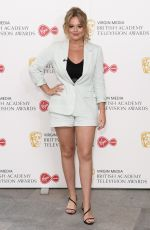 Emily Atack At Virgin Media British Academy Television Awards in London
