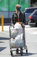 Emma Roberts Grocery shopping in Los Angeles