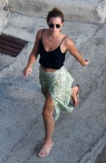 Emma Watson Basks in the hot Positano sunshine on her holidays in the picturesque village in Italy