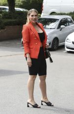 Frankie Essex At the King William pub in Chigwell