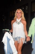 Gabby Allen Out on the first date night since her quarantine ended with new beau Brandon Myers in London