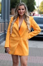 Georgia Kousoulou On the Set of TOWIE in London