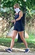 Gwyneth Paltrow Out walking in The Hamptons