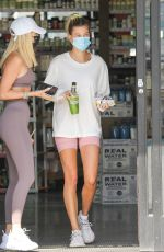 Hailey Bieber At Earth Bar in West Hollywood