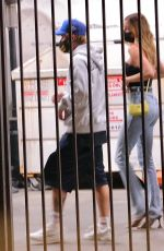 Hailey Bieber & Justin Bieber keep a low profile while sneaking out of Catch restaurant in West Hollywood