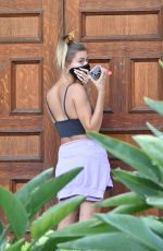 Hailey Bieber, Justin Bieber & Shawn Mendes Meet up at a home recording studio in Los Angeles