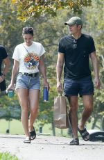Henry Golding Enjoying a lunch date with his wife Liv Lo Golding at a local park in Los Angeles