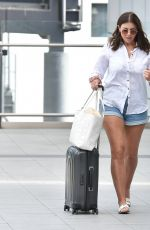Imogen Thomas Arriving at Gatwick airport as she heads to Greece to meet friends for a girls holiday