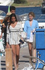 Jasmine Carrisi  Enjoying holidays in Sardinia with Sofia Stabil