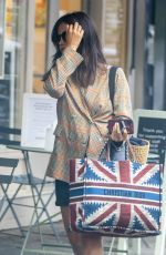 Jenna Coleman Seen out in Notting Hill
