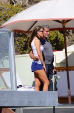 Jennifer Flavin Enjoys a day by the beach in Malibu