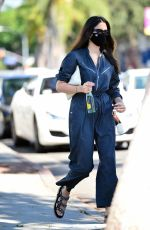 Jessica Gomes Sports a trendy $500 jumpsuit to lunch in West Hollywood