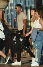 Jesy Nelson At a  day out in Brighton