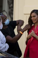 Joan Smalls Spotted in New York City