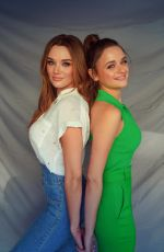 Joey & Hunter King - photoshoot for a secret project in Los Angeles