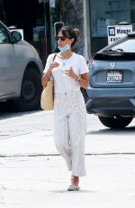 Jordana Brewster Out for frozen yogurt in LA