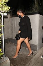Jordyn Woods Arriving at BOA steakhouse in West Hollywood