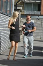 Jude Law and wife Phillipa Coan step out in London weeks after she was seen heavily pregnant