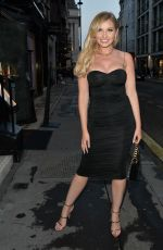 Kady McDermott, Samira Mighty and Amy Hart all pictured arriving at an Oh Polly party in Mayfair