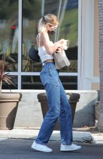 Kaia Gerber Outside a pet store in Malibu