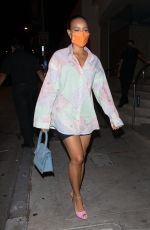 Karrueche Tran Spotted arriving to dinner at Catch