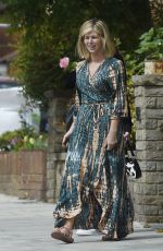 Kate Garraway Spotted popping to the shop in London