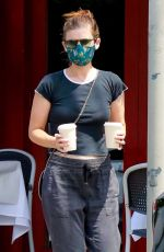 Kate Mara On Coffee run in Los Feliz
