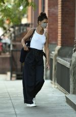 Katie Holmes Out for some food in NYC