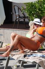 Katie Price Flaunts her perfect figure as she starts to enjoy her first holiday in Turkey