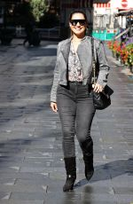 Kelly Brook Seen outside the Heart radio station in London